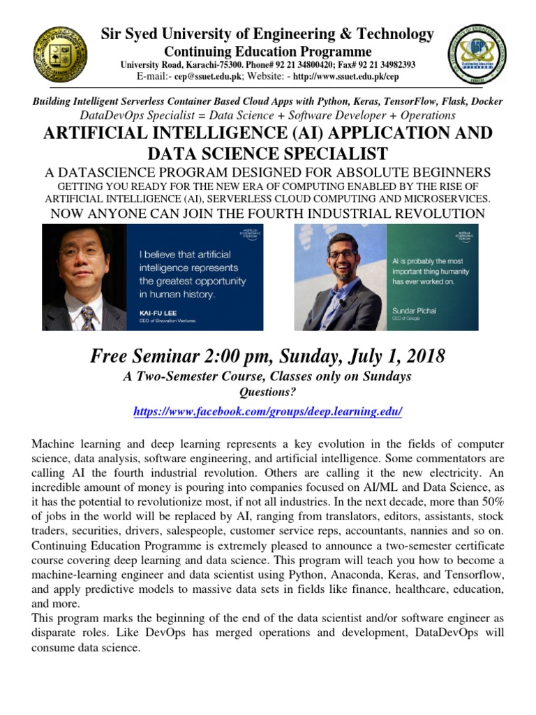Ai Ssuet 2018 Final | Deep Learning | Artificial Intelligence