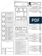 Classe Character Sheet Monk V1