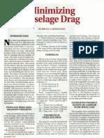Minimizing Fuselage Drag