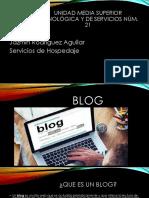 Blog y Navegador