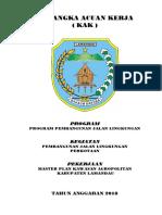 Kak Master Plan Kawasan Agropolitan Kabupaten Lamandau