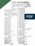 Registro Municpal Popayan 20 de Febrero de 1849 n 32