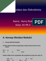 Reaksi Oksidasi Dan Elekrokimia