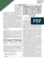 DS 007-20018-MC Procedimiento Simplificado de Monitoreo Arqueológico