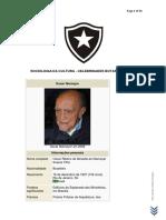Celebridades Botafoguenses Oscar Niemeyer