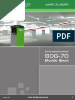 DynaGroup Manual Barrera BDG70