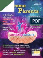 Supreme Parents 4th Newsletter _ November 2018