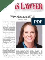 Morgan Texas Lawyer Why Mediations Fail 2017-03-24