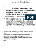 Geology as a Discipline2