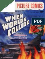 When Worlds Collide Motionpicture Comics Fawcett Us A