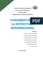 Fundamentos de La Estructura Organizacional (Mod 4)