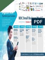 Small Business Week Calendar
