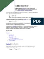 Derivada Parcial metodos numericos
