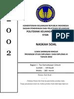 Soal Dan Pembahasan Usm Pkn Stan 2002