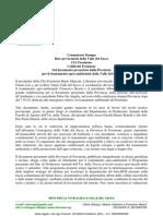 Comunicato Stampa Retuvasa CIA Coldiretti Risanamento Agro-Ambientale Frosinone 11.10.10