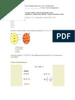 1 Teste de Matemática da  AVI.docx