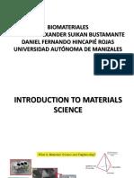 Clase N.2 - Introduccion a La Ciencia de Los Biomateriales