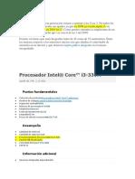Caracteristicas Intel Itanium