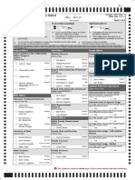 Moffat County 2018 General Election Ballot