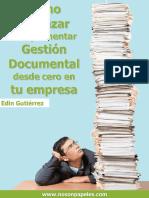 E-book - Cómo empezar a implementar Gestión Documental desde Cero en tu empresa.pdf