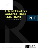 The Effective Competition Standard