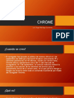 CHROME Blogger Power Point