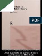 Marc Ferro-Colonization_ A Global History-Routledge (1997).pdf