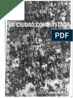 La Ciudad Conquistada - Jordi Borja