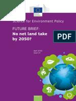 No Net Land Take by 2050 FB14 En