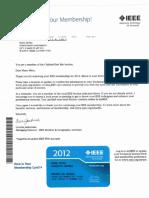 01. IEEE (Associate) Membership ID 2012