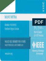03. IEEE Membership ID - 2013