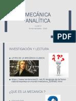 2- Clase Mecanica Analitica Grupo m