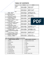 List of Cases on Labor and Property Law