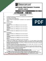 KVPY 2015 Paper Solution SB.sx 2
