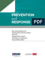 PreventionAndResponse 03-05-18