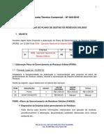 Proposta Técnico Comercial- PGRS