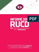 Informe final de la Red Universitaria y Ciudadana por la Democracia (RUCD)