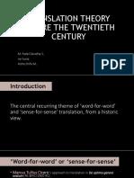 Descriptive Translation