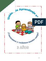 Unidades y Sesión de Aprendizaje 3 Años