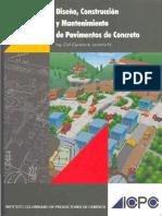 DiseñoConstr&MantenimientoDePavDeConcreto ICPC C.a.londoño