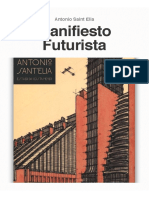 3.- Manifiesto Futurista