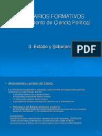 Seminarios Formativos 3.Estado y Soberanía Ppt