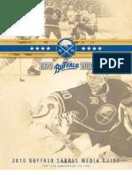 2010-2011 Buffalo Sabres Media Guide