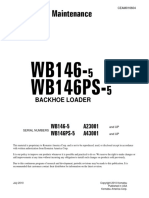 Operacion y Mantenimiento Wb146-5(Usa) Sn a23001-Up