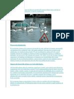 Drenaje Urbano Inundacion