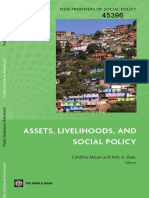 Assets Livelihoods and Social Policy