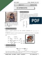 2DO AÑO - LENGUAJE - GUIA Nº5 - LOS DETERMINANTES.doc