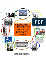 A Transport Disablity Policy for South Africa PDF