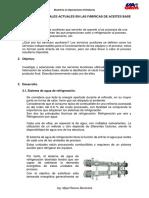 Servicios Industriales Actuales en Las Fábricas de Aceites Base