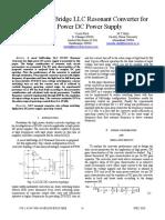 Half-Bridge LLC Resonant Converter for High Power DC Power Supply.pdf